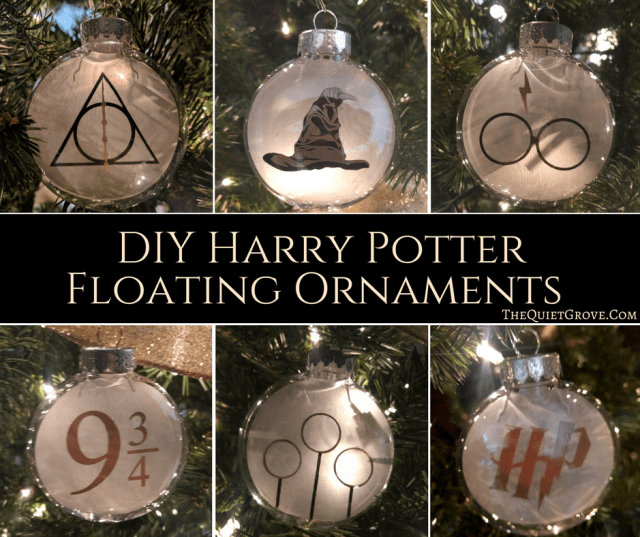 when i decided that i was going to do a diy harry potter christmas i knew i wanted to make some classic graphic harry potter ornaments for my tree to go