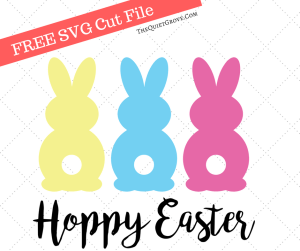 Download Easter / Spring SVG Cut Files ⋆ The Quiet Grove