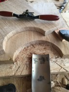 C21st spokeshave to chamfer the edges