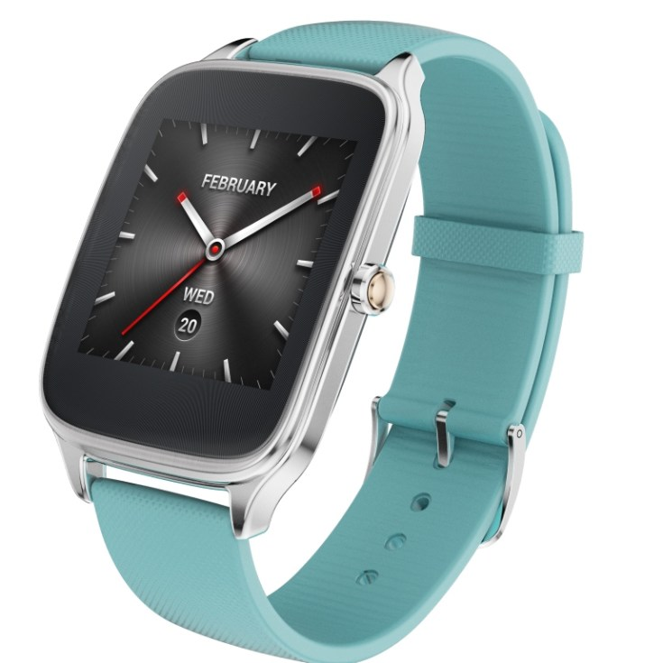 ASUS ZenWatch 2 (WI501Q)_Silver + Rubber strap