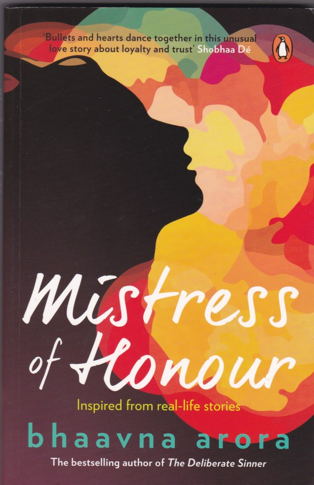 Mistress of Honour - Front Cover