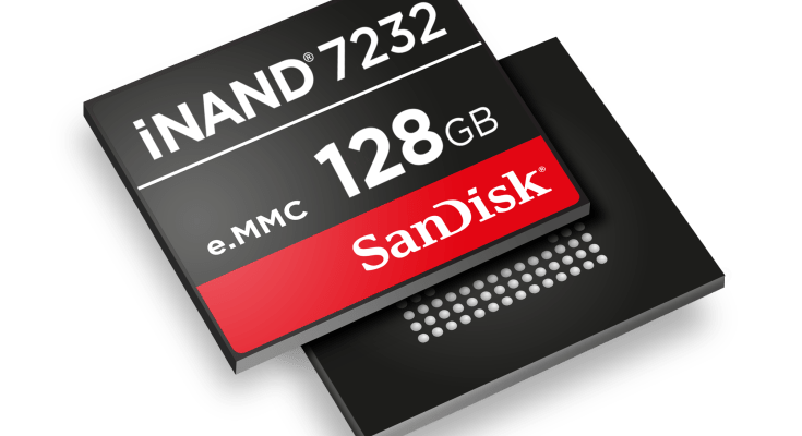 SanDisk iNAND 7232