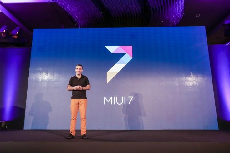 Hugo Barra, Vice President, Xiaomi Global presenting MIUI 7