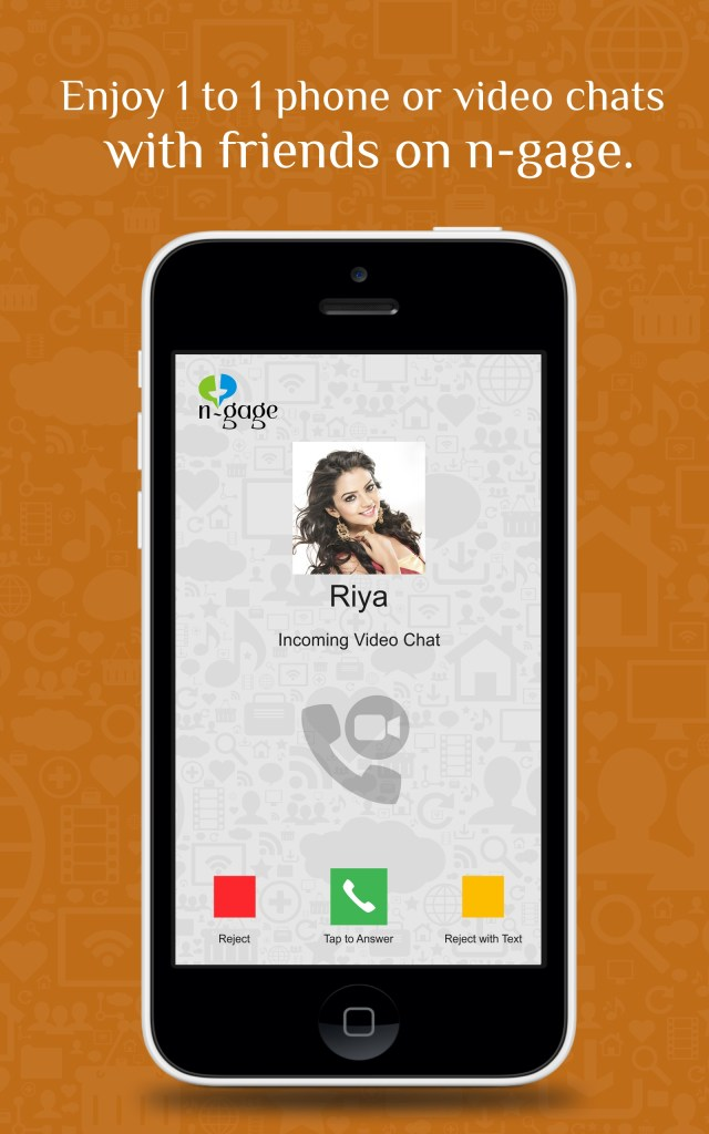 Screenshot for group and Phone video chat