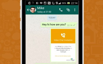 Screenshot for video chats on other platforms