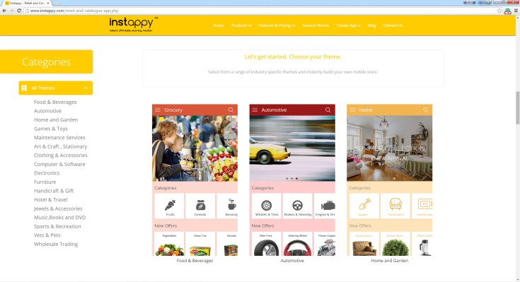 Retail and Catalogue all themes
