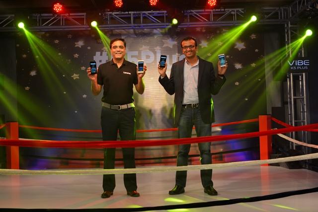 Sudhin Mathur, Director Lenovo MBG, Anil Goteti, VP, Retail Flipkart
