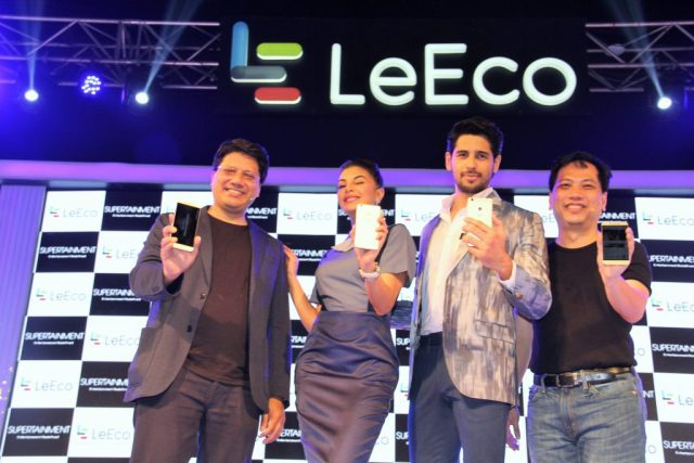 Mr Atul Jain, COO, LeEco, India, jacqueline fernandez and sidharth malho...