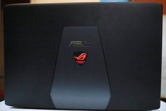 Lid with ROG Logo