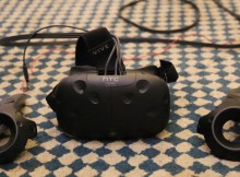 VR Headset and Controllers