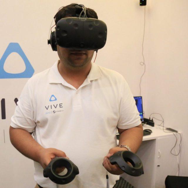 VR User Standing