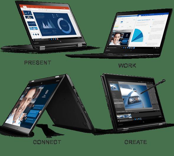 Lenovo Thinkpad Yoga X1 Modes
