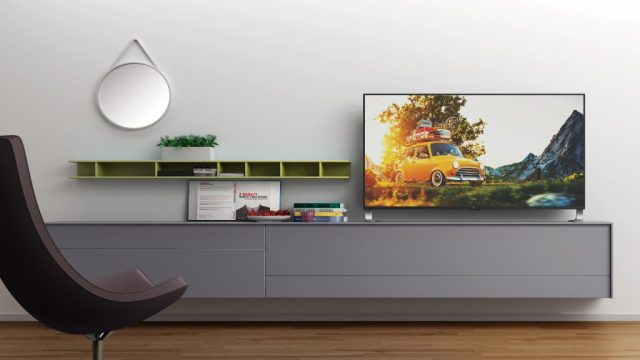 LeEco Super4 in a room