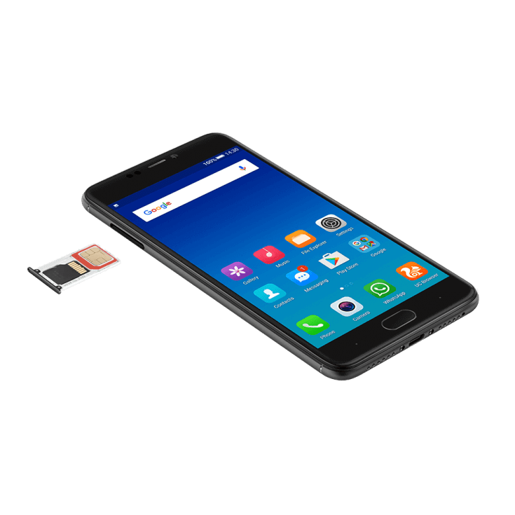 Gionee A1 With SIM Tray Open