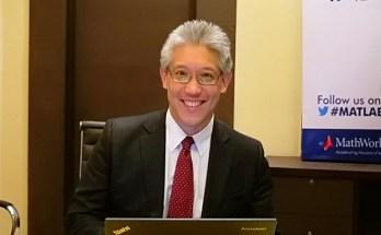 Jim Tung, MathWorks Fellow