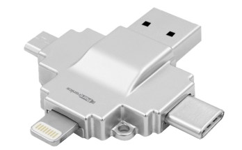 Portonics 4-in-1 card reader Diski