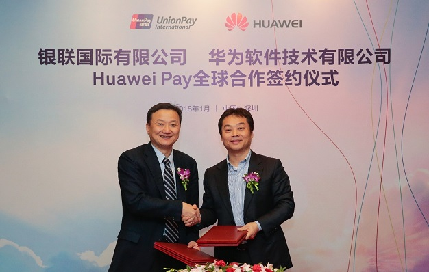 UnionPay-HuaweiPay-Roll-Out-Worldwide