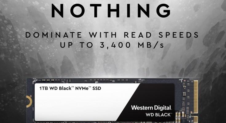 WD Black SSD NVME.
