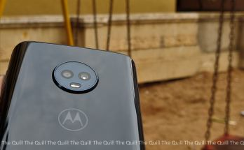 Moto G6 Rear View