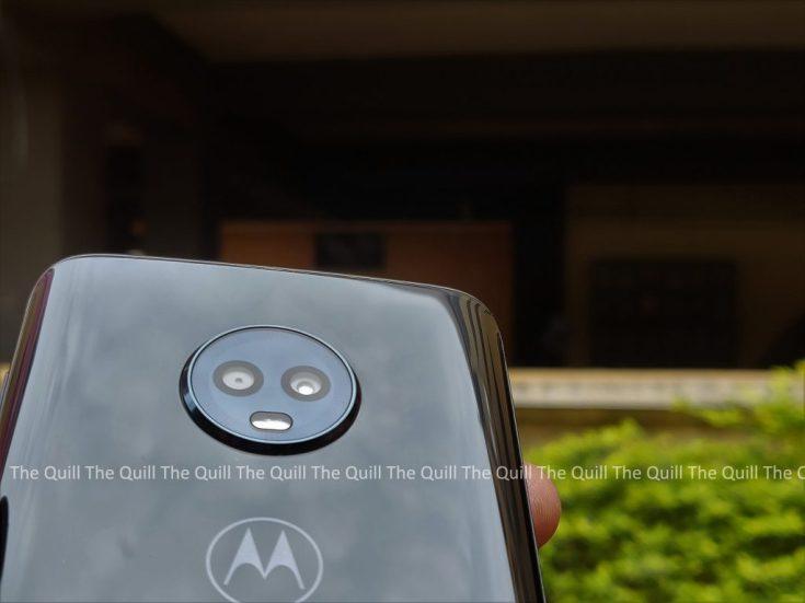 Moto G6 Rear Camera