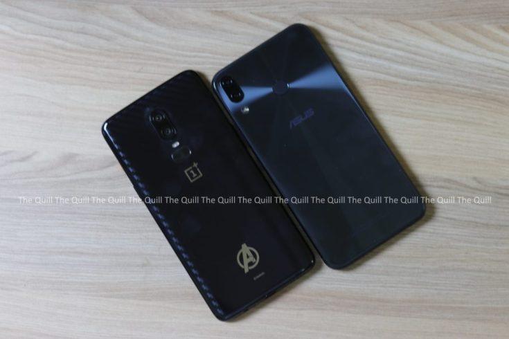 OnePlus 6 vs Asus Zenfone 5Z