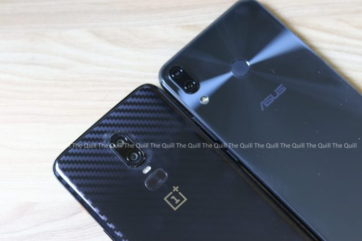 OnePlus 6 and Zenfone 5Z