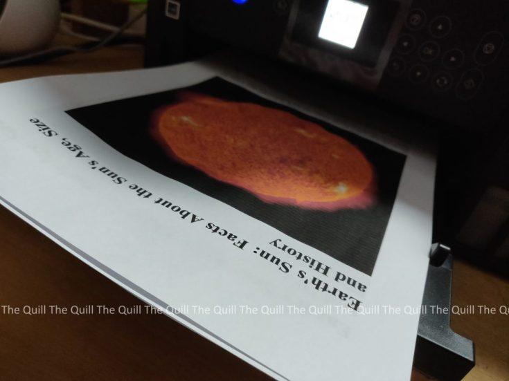 Project Printout