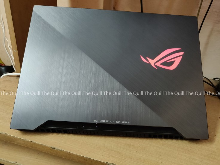 ASUS ROG STRIX Scar II Rear View