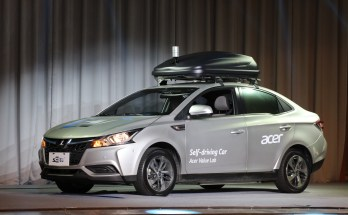 Acer Self-driving Concept Car