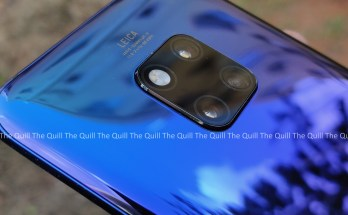 Huawei Mate 20 Pro Rear View