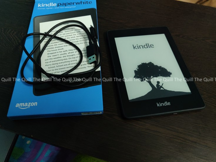 Amazon Kindle PaperWhite 2018 Package