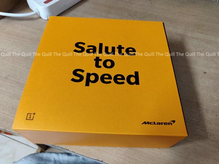OnePlus 6T McLaren Edition Packaging