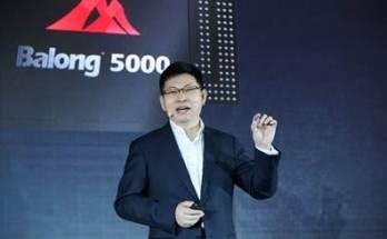 Huawei 5G Chip Launch