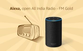 Listen to radio with Alexa