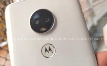 Moto G7 Rear View