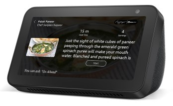 Cook With Alexa on Echo Show 5