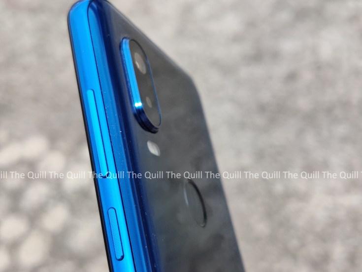 Motorola One Vision Side View
