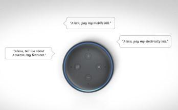 Amazon Alexa Bill Payment