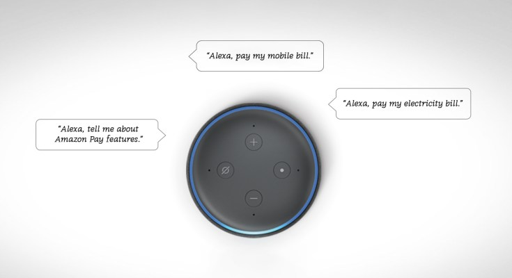 Amazon Alexa Bill Payment