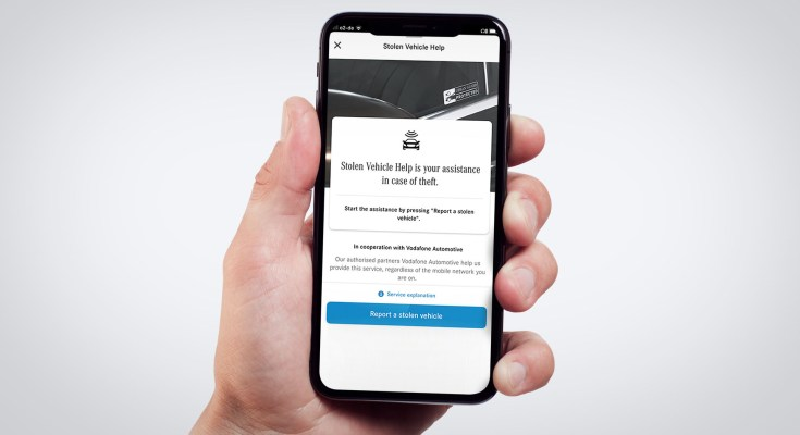 IBM Mercedes Stolen Vehicle App