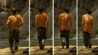 Tim Olyphant callipygian butt