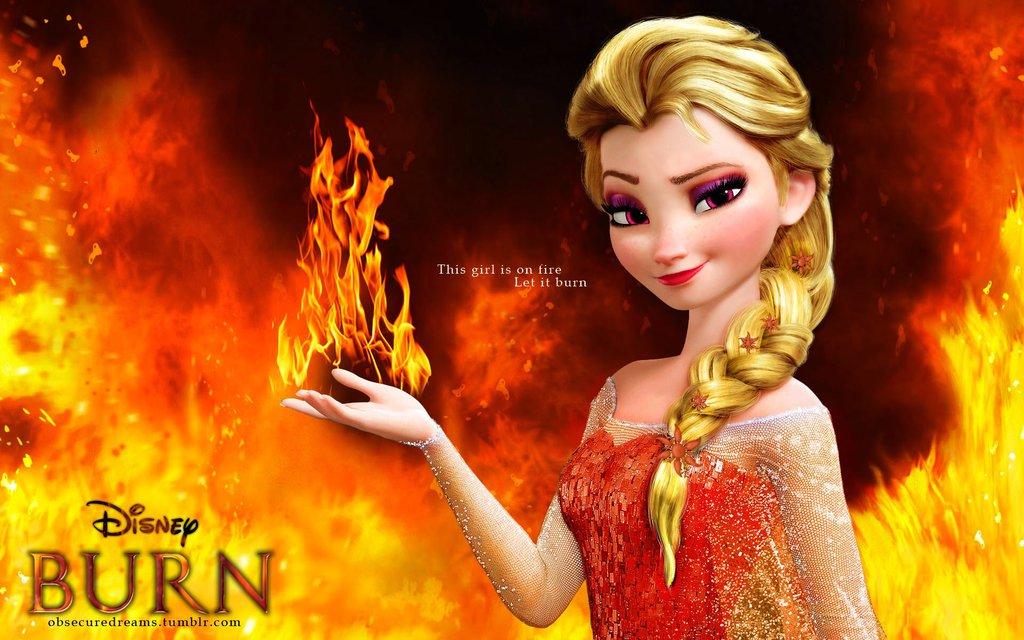 A La Frozen Let It Burn  Quill Aquiver