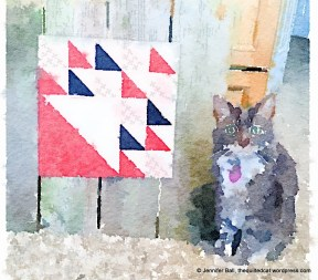 Romeo and February Block in Waterlogue