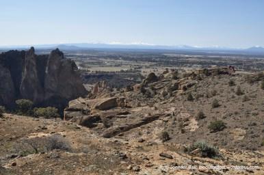 Cascade Range from Smith Rocks