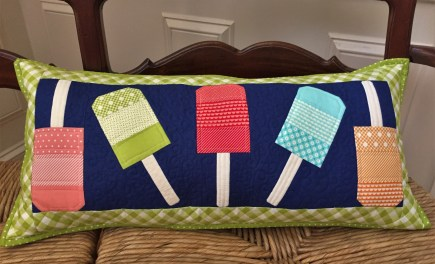 Popsicle Mini pillow by Fig Tree and Co., May's Mini and More