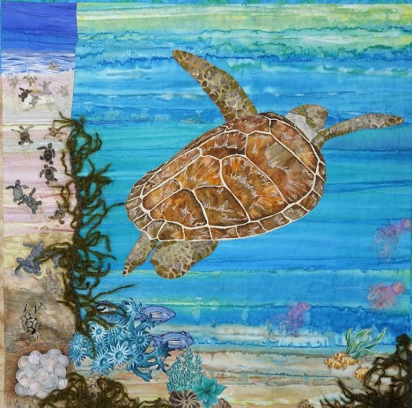 """Loggerhead Turtle"" by Karin Täuber, Virginia, USA"