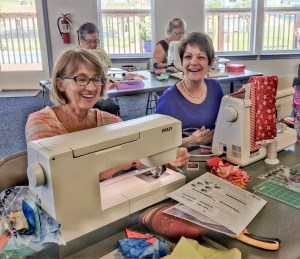 Quilting Guilds are full of fun friendly folk