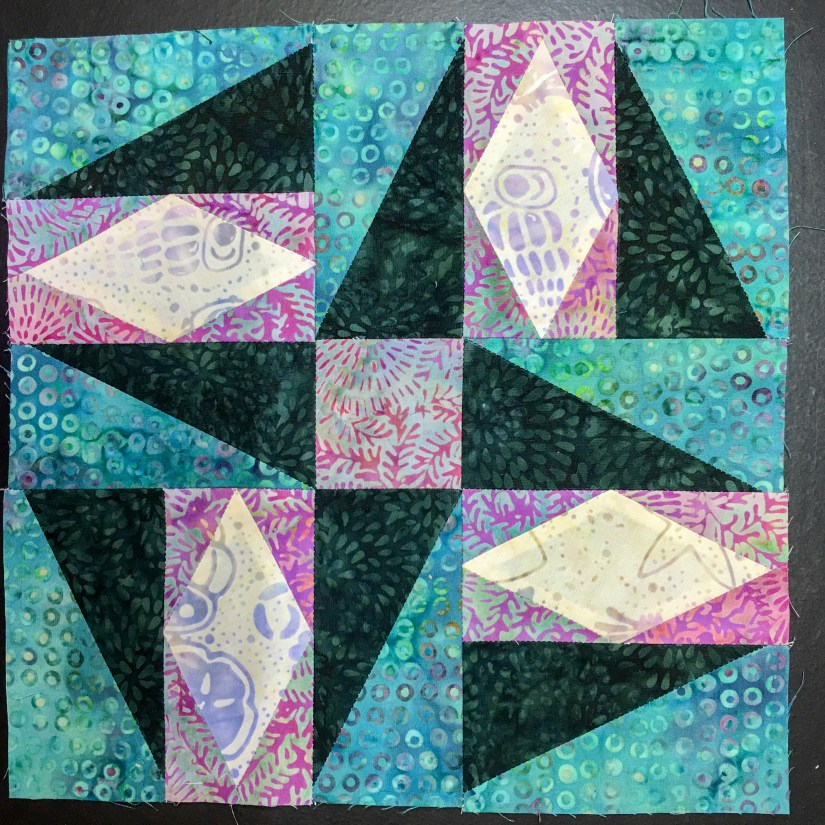 The Quilt Rambler made this block using Deb Tucker Rulers for Certification Application