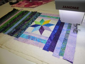Distracted by Quilt As You Go