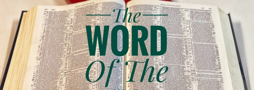 The Word of the Year - Jesus
